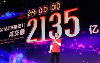 Alibaba sprzedała towarów na 1 miliard dolarów w ciągu 85 sekund