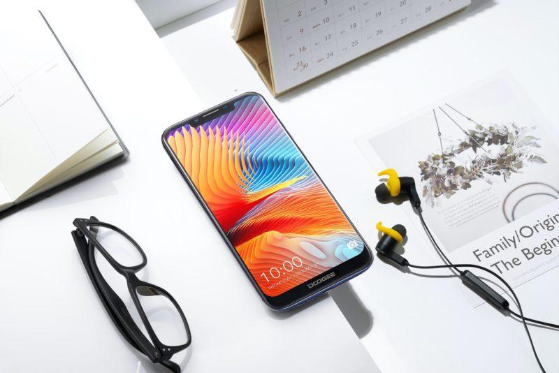 Premiera Doogee BL5500 Lite – smartfona z wydajną baterią i notchem 3
