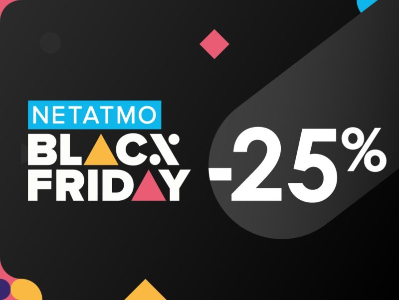 Promocja Netatmo na Black Friday. Smart home taniej o 25%