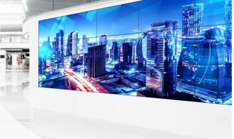 Panasonic prezentuje wielodotykowe ściany wideo
