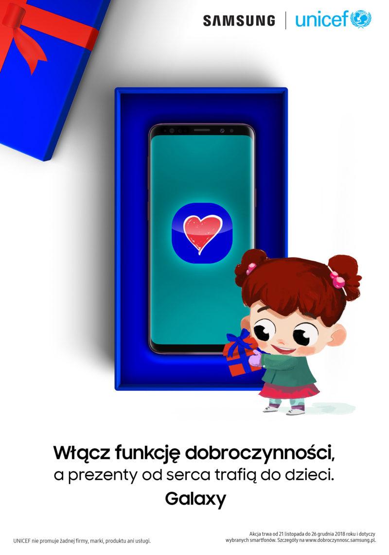 Samsung prezentuje nową funkcję smartfonów Galaxy #FunkcjaDobroczynnosci 1