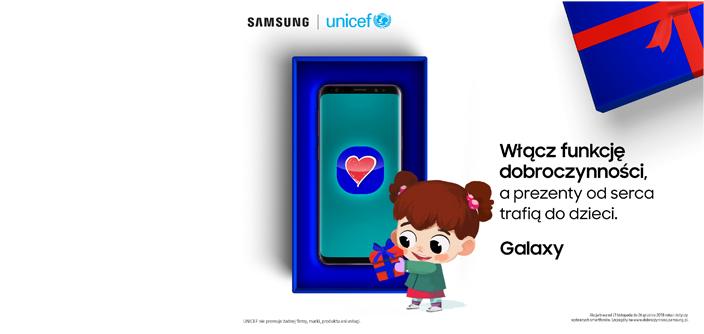Samsung #FunkcjąDobroczynności