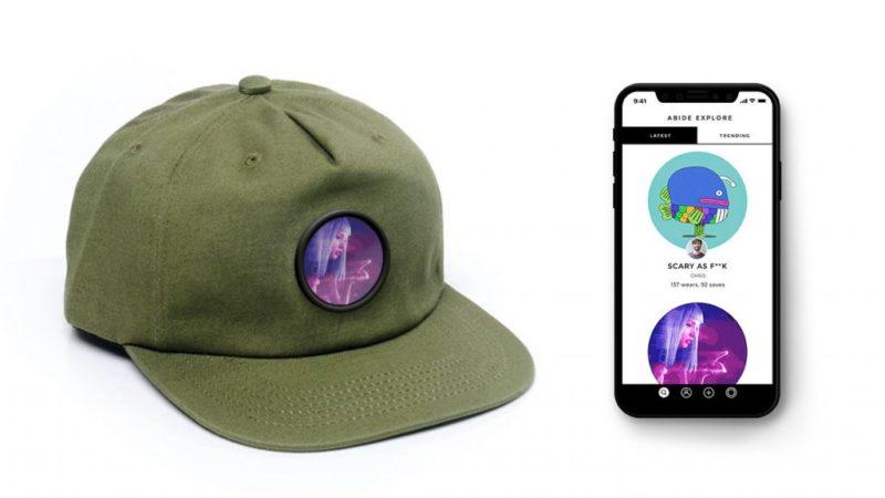 Przedstawiona inteligentna czapka z AMOLED ekranem 2 1