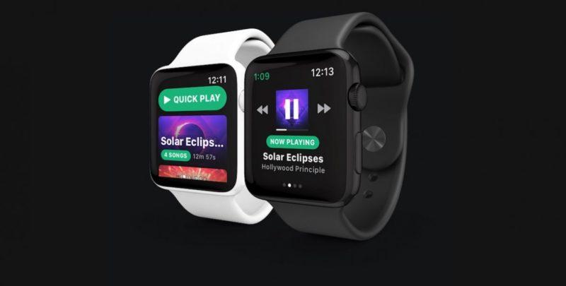 Muzyczny serwis Spotify przedstawił aplikację do Apple Watch 1