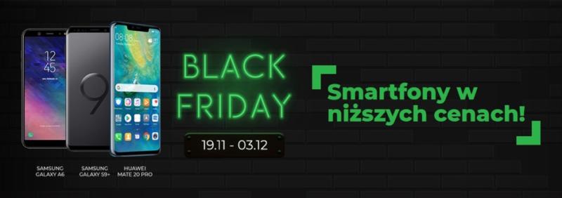 Black Friday w Plusie i Samsung Galaxy S9+ taniej nawet o 1140 zł