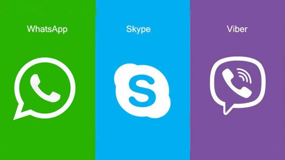 viber whatsapp skype