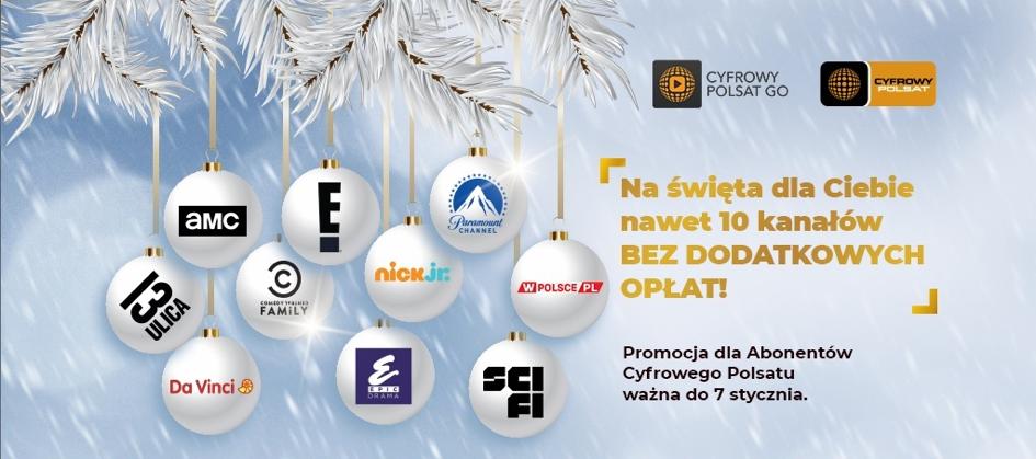 Świąteczna niespodzianka dla abonentów Cyfrowego Polsatu