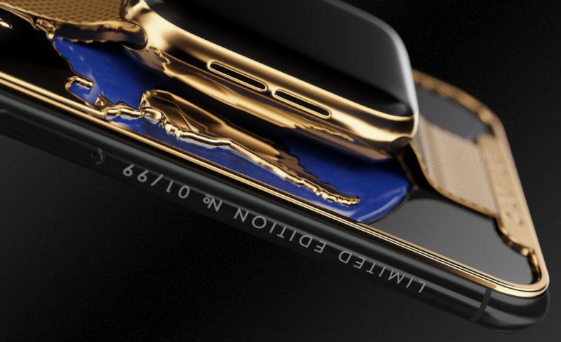 Rosyjska firma połączyła iPhone XS i Apple Watch 3