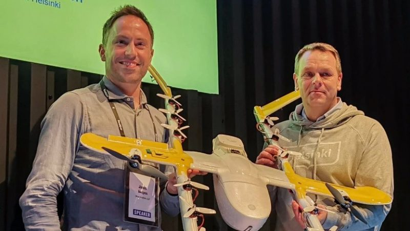 Google rozpoczyna usługę Drone delivery w Europie