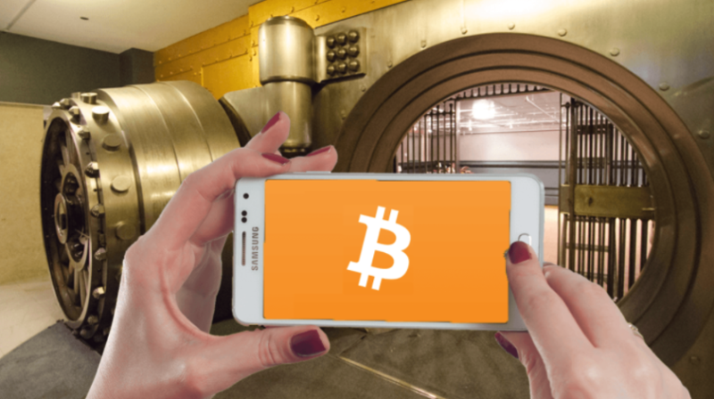 Samsung blockchain-smartfon