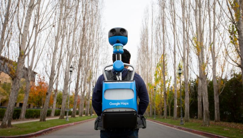Google zaprezentowała nowy aparat do robienia map panoramicznych Street View