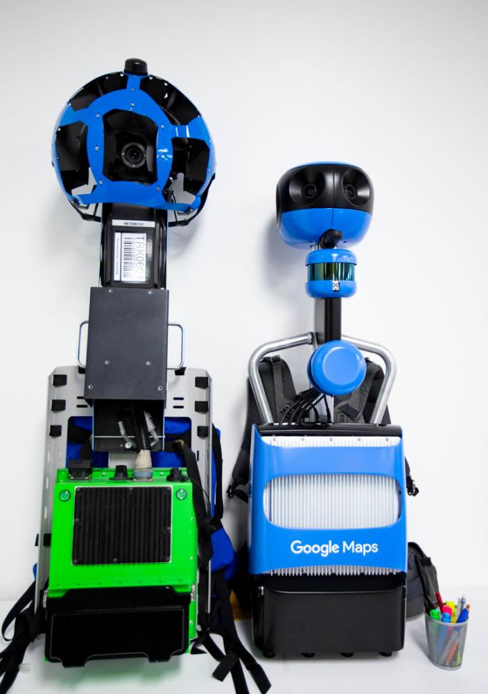 Google zaprezentowała nowy aparat do robienia map panoramicznych Street View 1