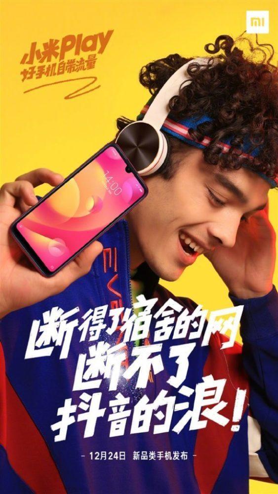 Xiaomi pokazała nowy młodzieżowy smartfon Play z wycięciem podobnym do kropli 4