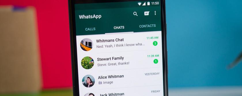 WhatsApp rozmowy grupowe