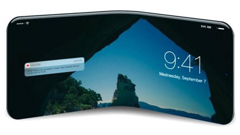 Apple opatentowała unikalną technologię elastycznego iPhone