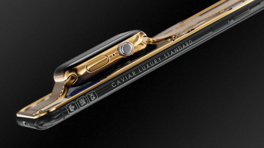 Rosyjska firma połączyła iPhone XS i Apple Watch