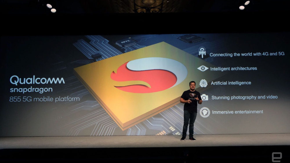 Nowy procesor Qualcomm Snapdragon 855.