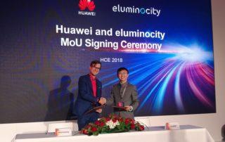 Huawei i eluminocity stworzą w Europie centrum testowe poświęcone Smart City