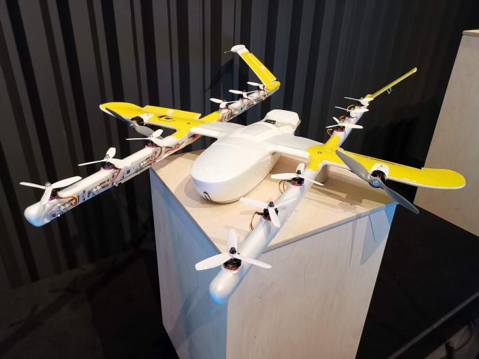 Google rozpoczyna usługę Drone delivery w Europie 1