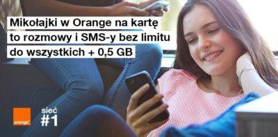 Mikołajki w Orange na kartę