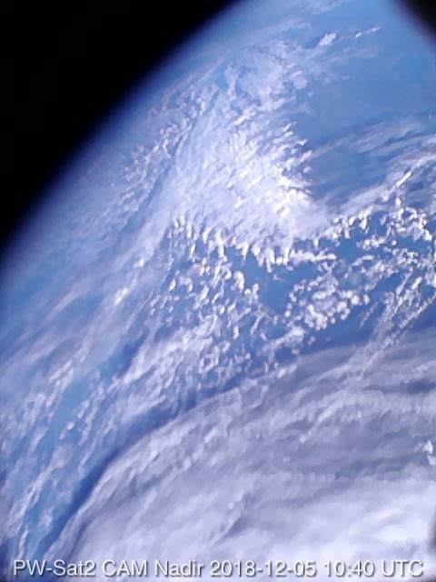 Pierwsze w historii polskie zdjęcie satelitarne - wykonał je pw-sat2