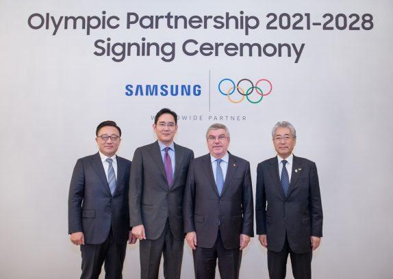 Samsung przedłuża współpracę z Międzynarodowym Komitetem Olimpijskim do 2028 roku