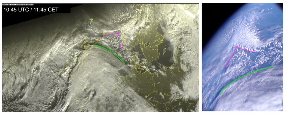 Pierwsze w historii polskie zdjęcie satelitarne - wykonał je pw-sat2 1