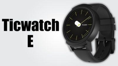 ticwatch e sports smartwatch Zegarek Ticwatch E Sports w promocji geekbuying.pl 5
