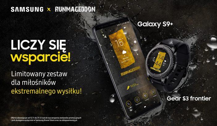 Samsung x Runmageddon smart zestaw dla miłośników sportów ekstremalnych