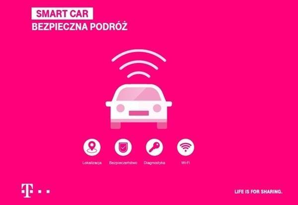Nowa usługa Smart Car od T‑Mobile - Inteligentny samochód dla każdego