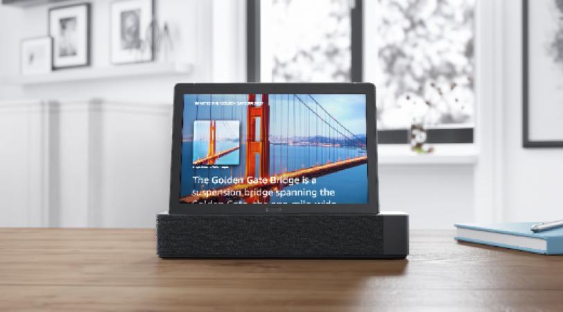 10 najciekawszych zastosowań nowych tabletów Lenovo Smart Tab zusługą Amazon Alexa 1