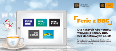 Moc rozrywki i ferie z BBC w Cyfrowym Polsacie