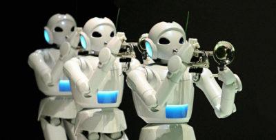 robot muzyk