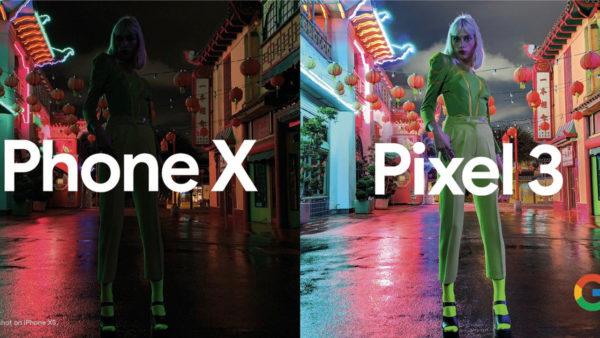 Google pokazał przewagę Pixel 3 nad iPhone XS 1