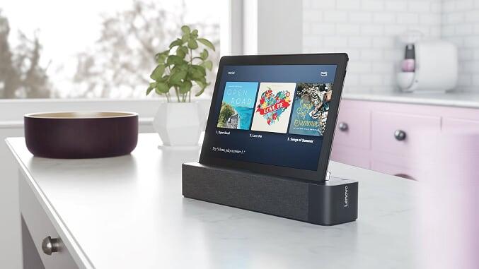 Lenovo Smart Tab M10 CES 2019