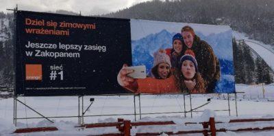 Orange nie boi się zimy Lepszy zasięg sieci w górach