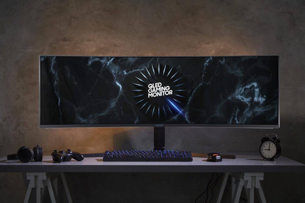 Nowe modele monitorów firmy Samsung na rok 2019 zaprojektowano z myślą o nowoczesnych przestrzeniach roboczych i graniu w wysokiej rozdzielczości