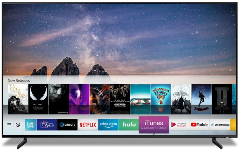 Samsung TV iTunes Movies
