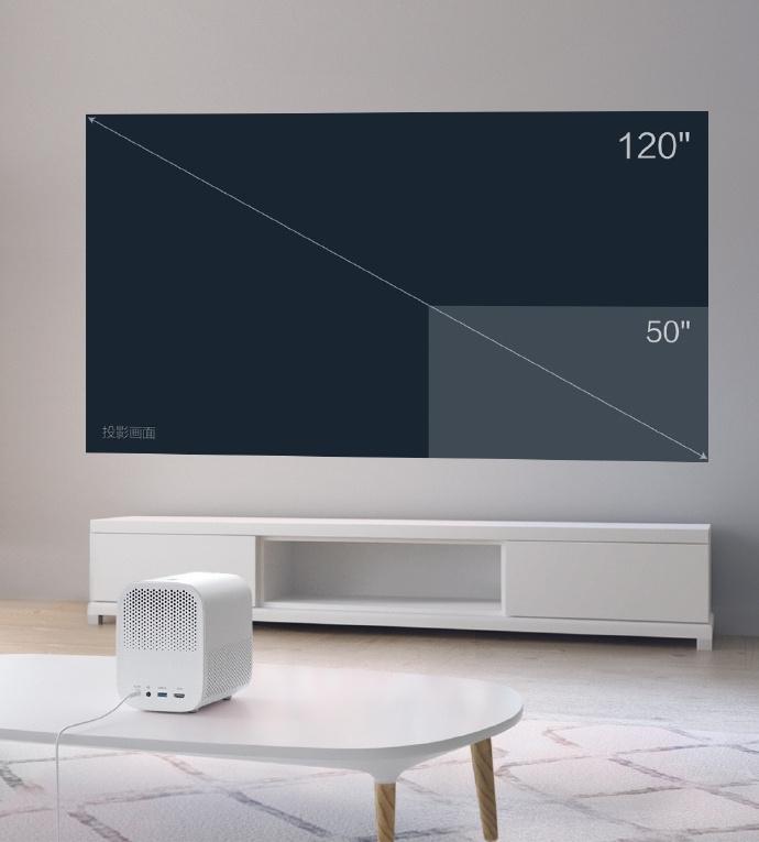 Xiaomi zaprezentowała projektor Mi Home Projector Lite 1