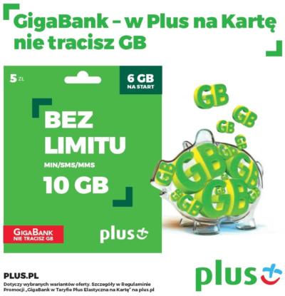 plus GigaBank promocja