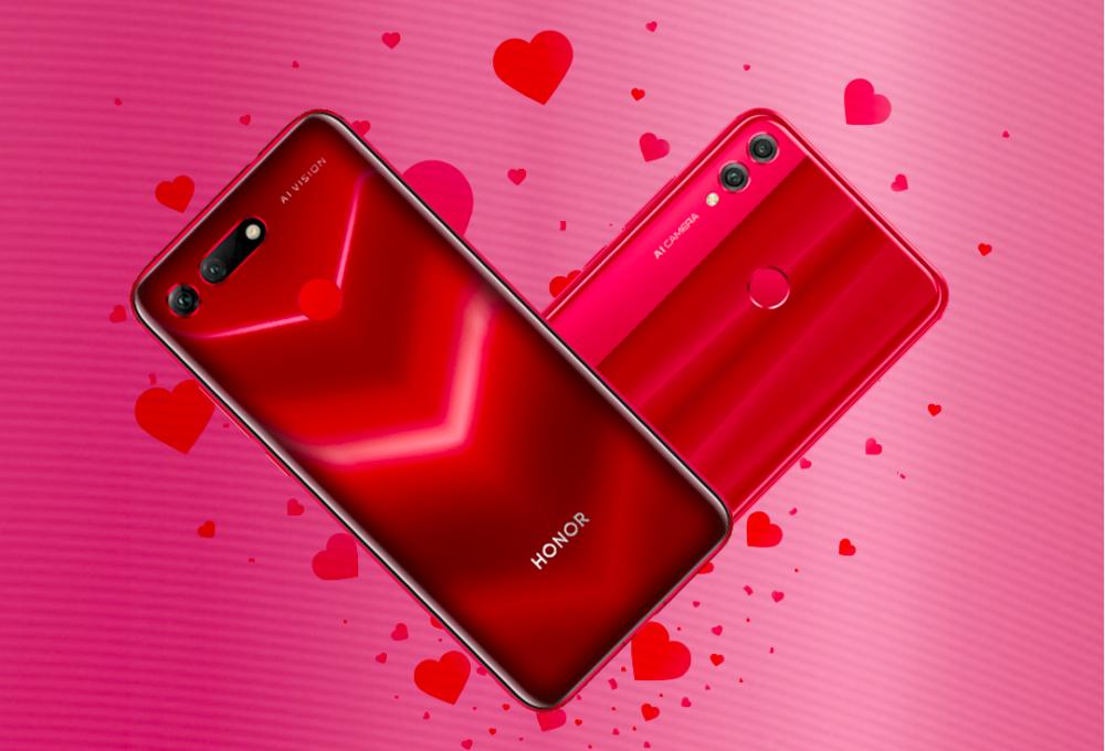 Walentynkowa promocja Honor