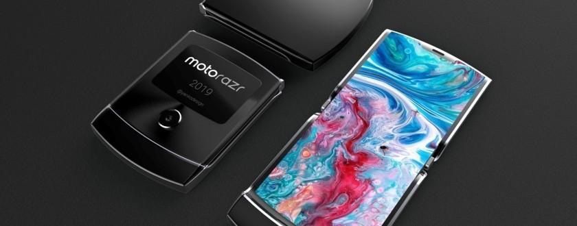 """Moto RAZR 2019 pokazano na wideo: jaka może być """"reinkarnacja"""" kultowego telefonu 1"""