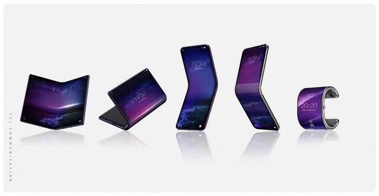 Właściciel BlackBerry i Alcatel przygotowuje pokazać odrazu pięć smartfonów z elastycznymi ekranami