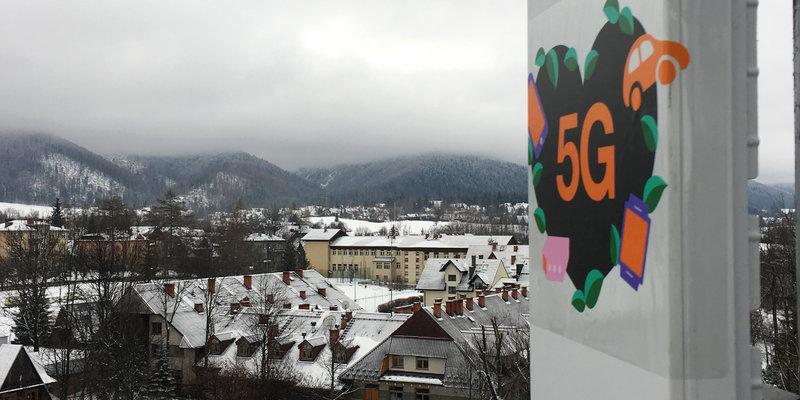 Orange przeprowadził wspólnie z Ericsson testy 5G w Zakopanem. Firmy wykorzystały prototypowe urządzenia i nowe częstotliwości. 2