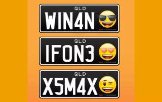 Emoji dotarły do tablic rejestracyjnych pojazdu