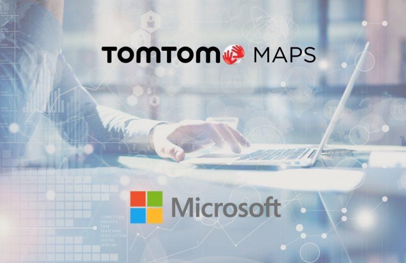 TomTom zacieśnia partnerstwo z Microsoft – oferta Microsoft Cloud rozszerzona o usługi oparte na geolokalizacji
