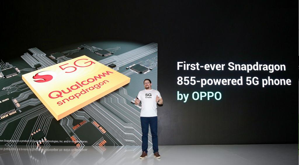 Oppo Qualcomm Snapdragon 855 5G