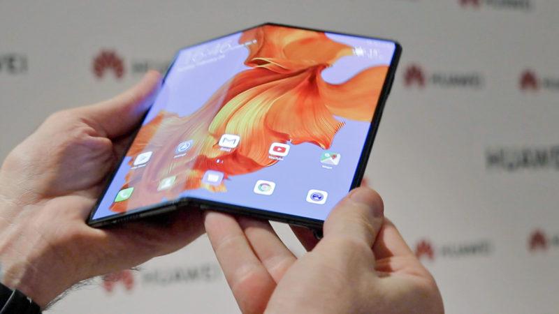 Huawei Mate X: realne zdjęcia i wideo elastycznego smartfonu 1