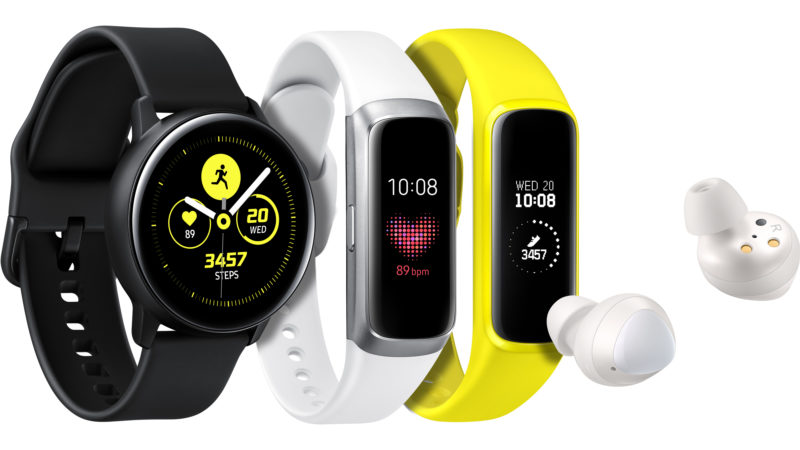 Samsung Galaxy Watch Active Fit Buds