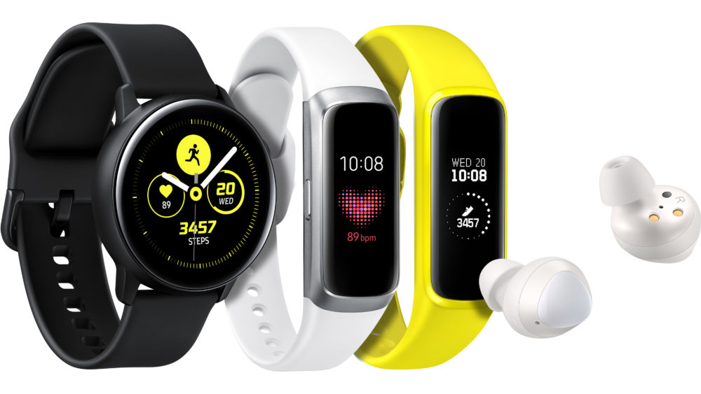Samsung Galaxy Watch Active Fit Buds